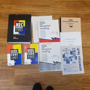 1993 National Electrical Code Books Plus More!